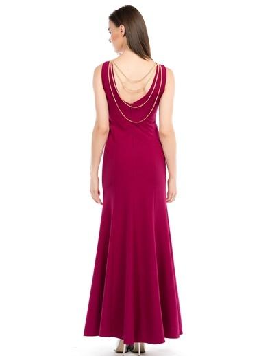 Uzun Abiye Elbise-İroni